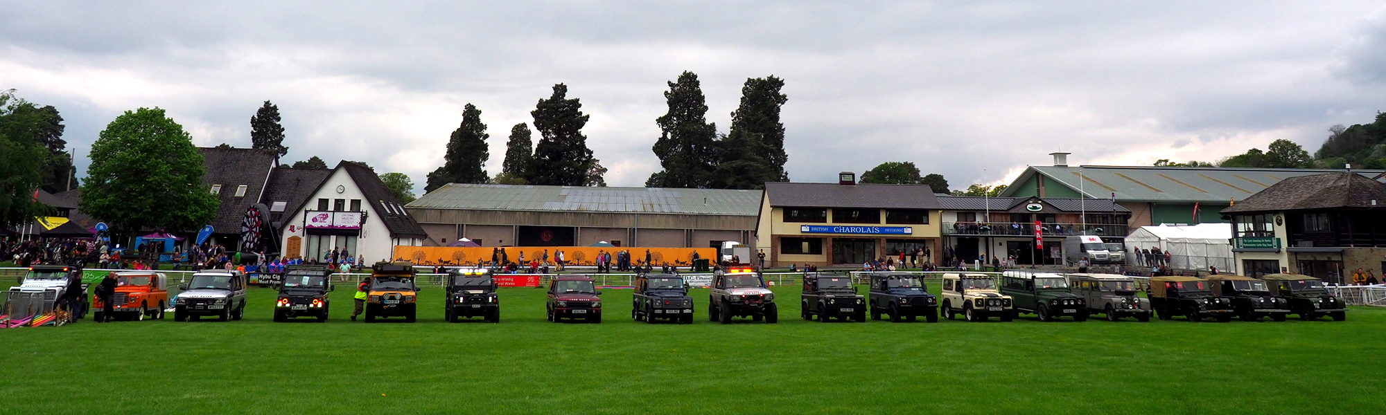Welsh Festival of Land Rovers
